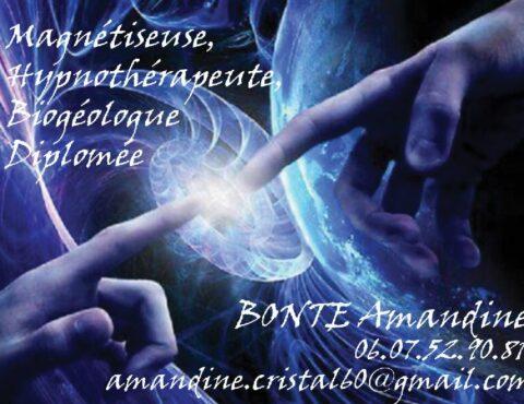 Amandine BONTE : Magnétiseuse sur Beauvais